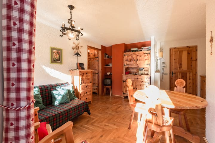 Cute and sunny FLAT Aosta valley - Rhemes-notre-dame - Apartemen