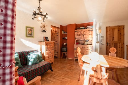 Cute and sunny FLAT Aosta valley - Rhemes-notre-dame - 公寓