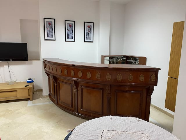 2 bedrooms,Montplaisir,5 min from airport