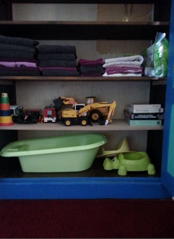 What`s in the bleu cupboard
