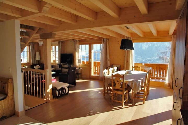 Amazing Ski-in Ski-Out Chalet - Breathtaking Views - Ormont-Dessous - วิลล่า