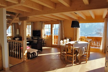 Amazing Ski-in Ski-Out Chalet - Breathtaking Views - Ormont-Dessous