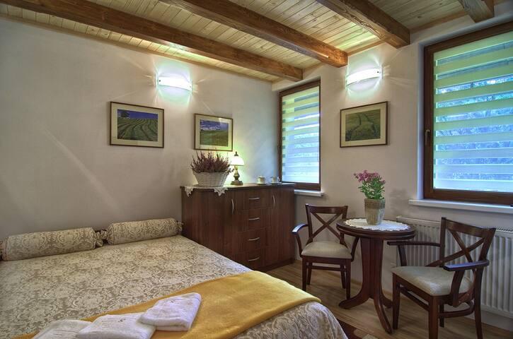 Pokój dwuosobowy z podwójnym łóżkiem nr 23