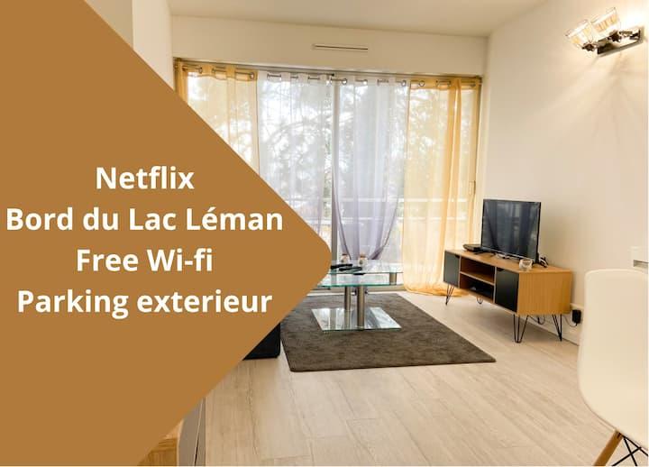 ★Grand T2 Cosy ❤︎   Lac Leman★