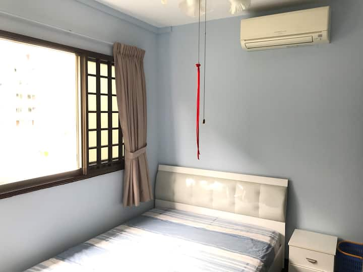 Fully furnish,clean&bright private room,v near NTU