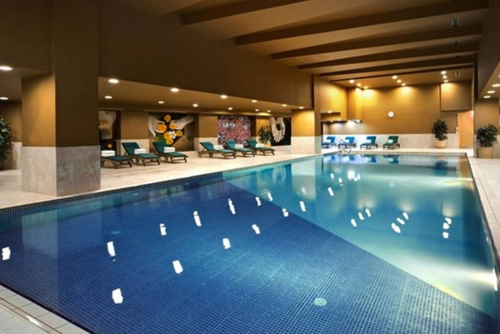 Indoor Pool at the Intercontinental