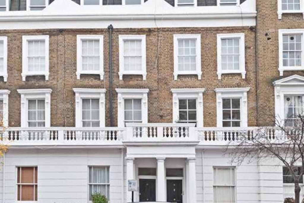 Located on one of London's most exclusive streets