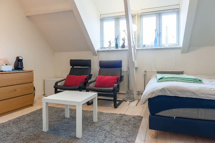 Cosy room near PSV-stadium and city center.