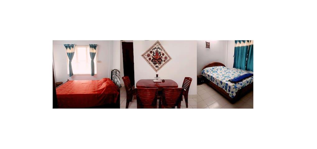 """LA PLAZA"" YOUR HOME AWAY HOME WITH COMFORT + WIFI - Calcutá - Apartamento"