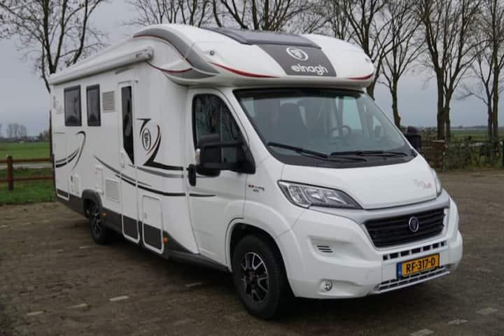 Zeer luxe camper