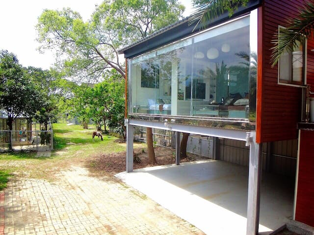 Modern Tree House 現代渡假樹屋 (2 ppl) - Gukeng Township - House