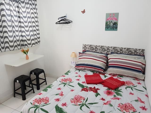 4-Cozy Double room Botafogo/Copacabana beach
