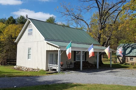 The Cozy Country Cottage at Horse Feather's Farm!