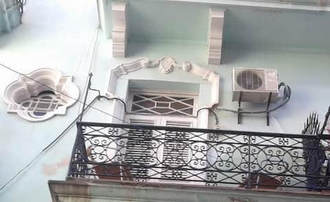 Kolóniai apartman Havanna óvárosában