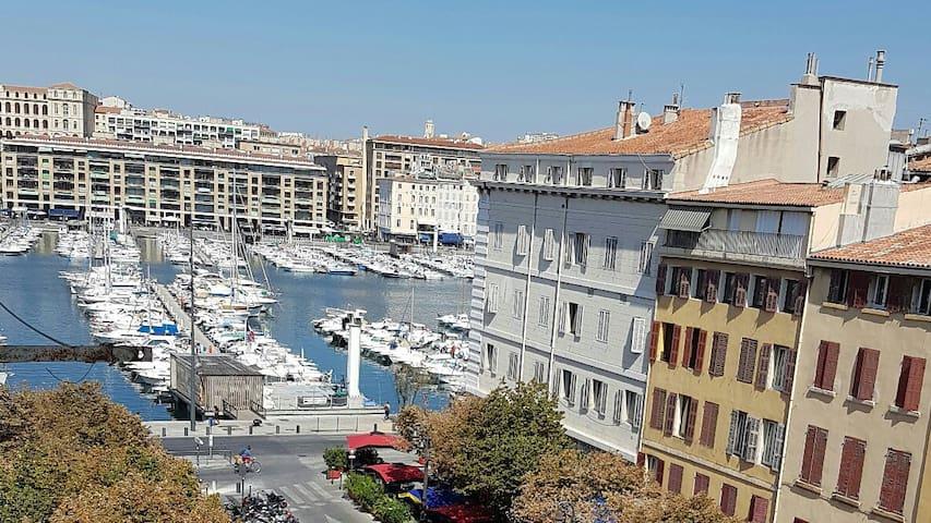 Place aux huiles, vieux port - Marseille - Apartemen