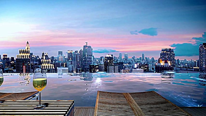#34 SUPER LUX DOWNTOWN BKK@CHITLOM BTS,PLATINUM