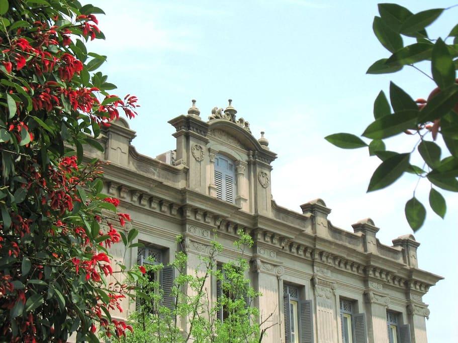 中德记(黄家花园)北楼外墙景观