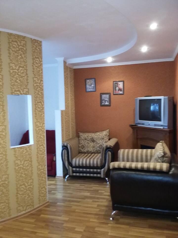 Уютная 1-комнатная квартира для летнего отдыха