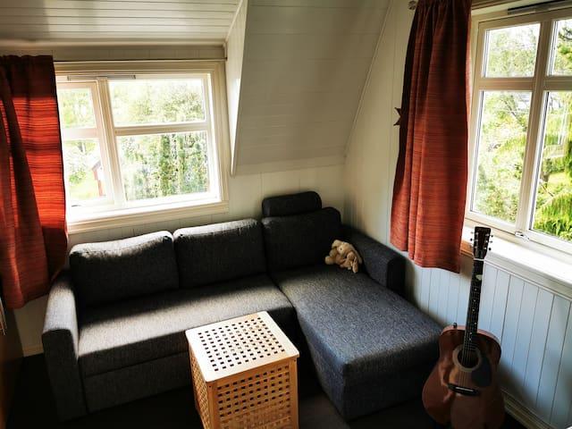 2.Bedroom - comfy sofabed