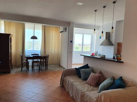 Spacious apartment in Portoscuso with sea view