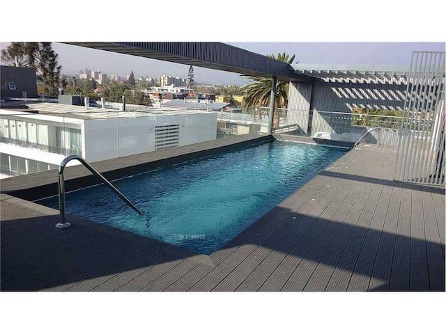 Chambre et salle de bain privée au calme - Santiago Metropolitan Region - 家庭式旅館