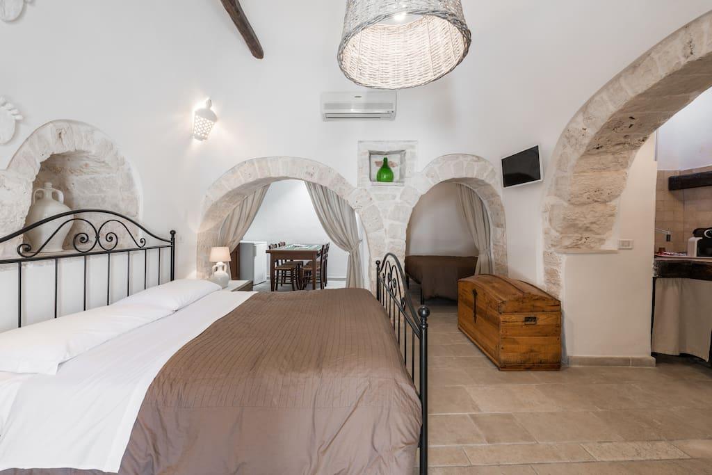 Camera da letto a Trullo e Alcove