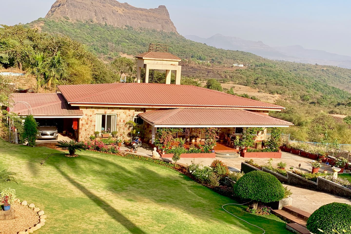 Cottage with a view near Lonavala