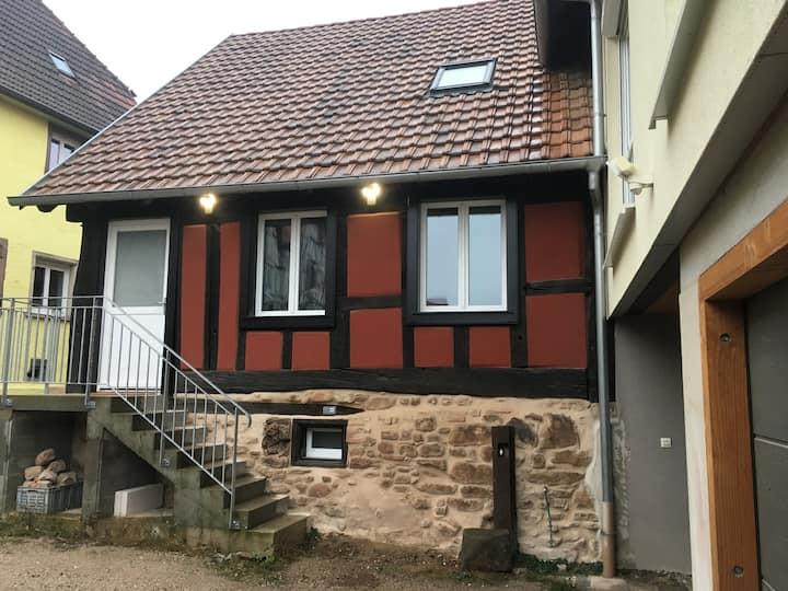 Spacieux gîte pour 6/8 personnes Centre Alsace