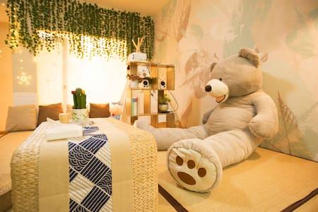 【猪圈】小熊剧院解放碑中心——AAAA级景区洪崖洞/两江索道/轨道交通/江景房