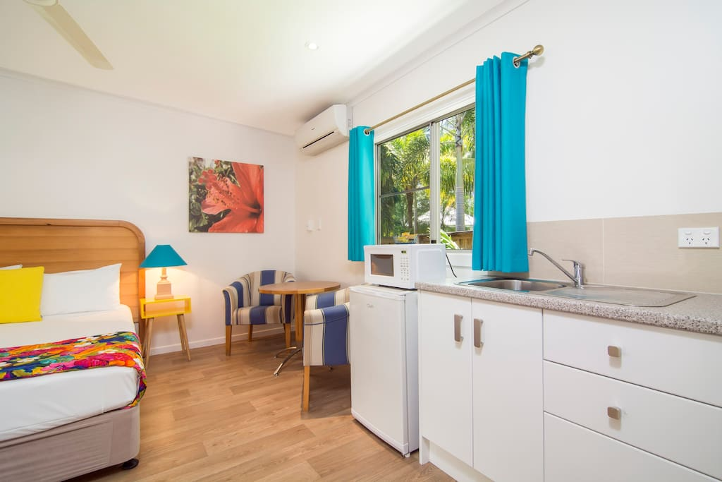 Central accommodation in town for two