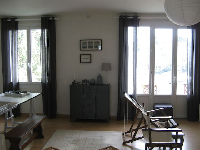 Grand appartement à 15 mn du centre ville - Nantes - Appartamento