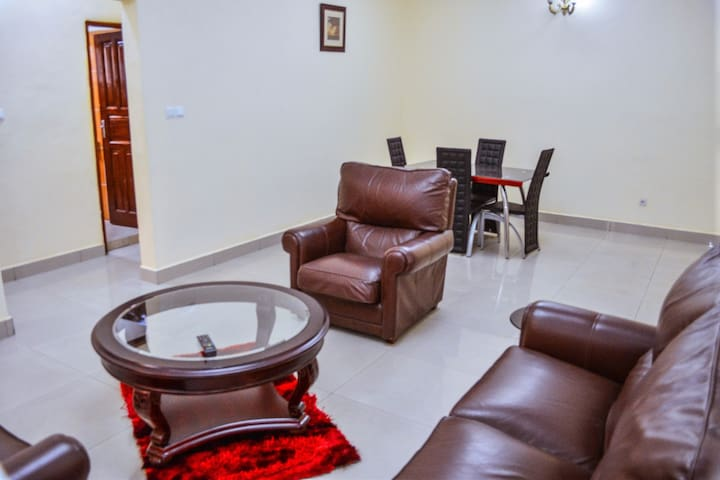 Two Bedroom Apartment, furnished