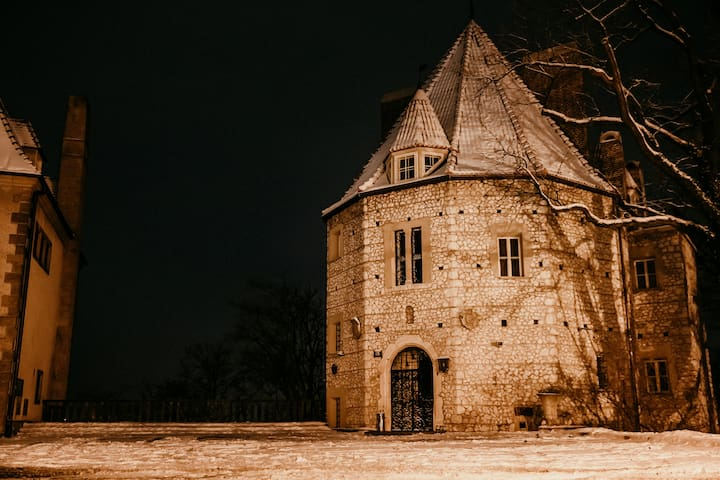 Suite in a historic Tower