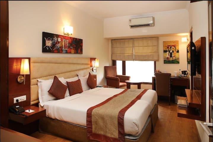 Warm upscale pvt room in Central South posh Delhi