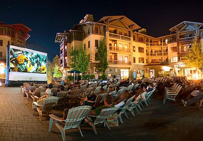 Catch a Free movie, at the Village at Squaw during the Summer!