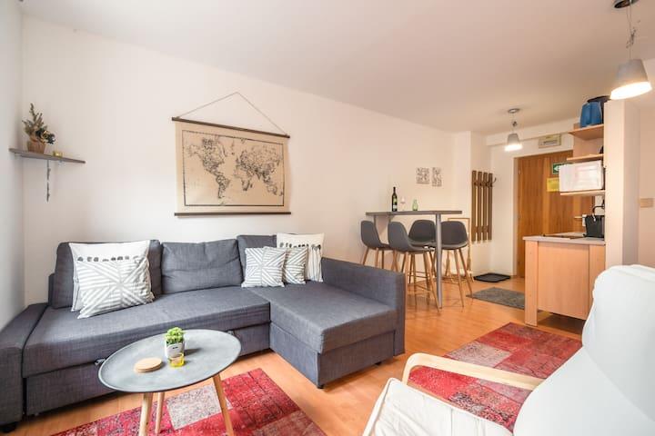 Nice apartment in fantastic location on the Nassfeld ski piste