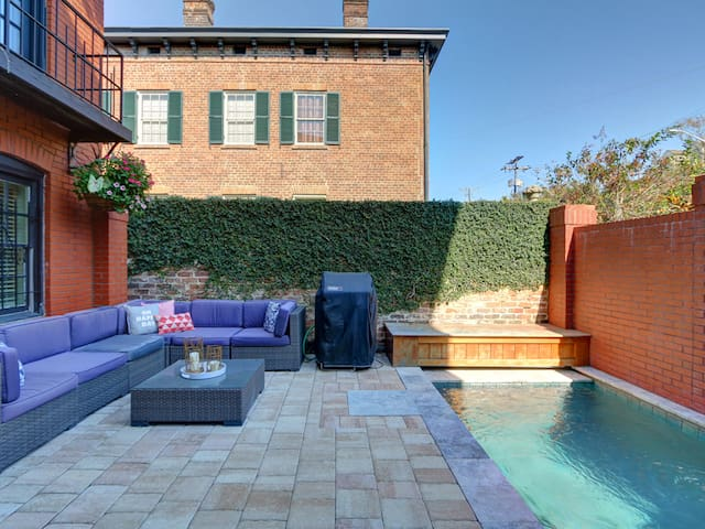 Stay in the Lap of Luxury in the Heart of the Historic District with Heated Pool