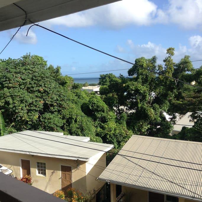 Balcony view...peaceful