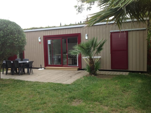 CAMPING LA Sirène 40M2 3 BEDROOMS 2 BATHROOMS