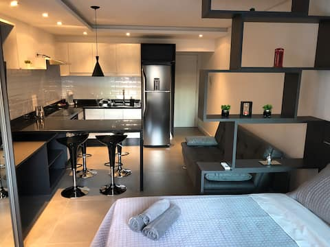 Studio novo e moderno- Lifespace Curitiba