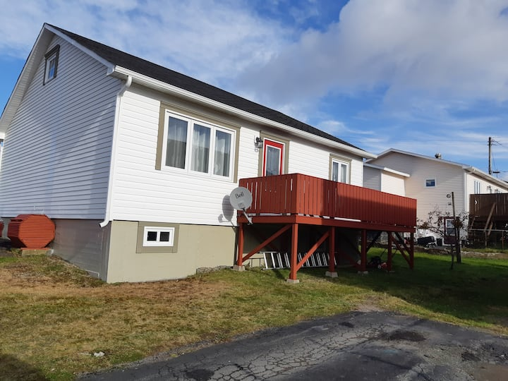 Beautiful home with a view of Harbour Breton