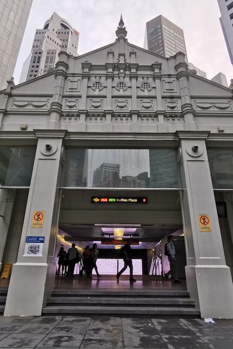 Let's start from here: Raffles Place
