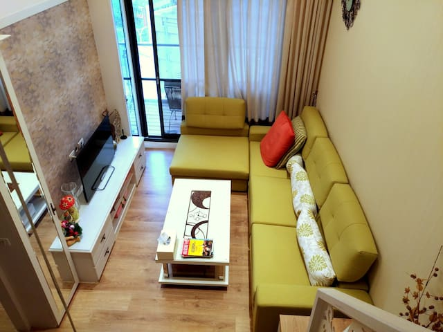 Apartment Hotel@Tamsui ( mountain, river and sea) - Tamsui District - Byt