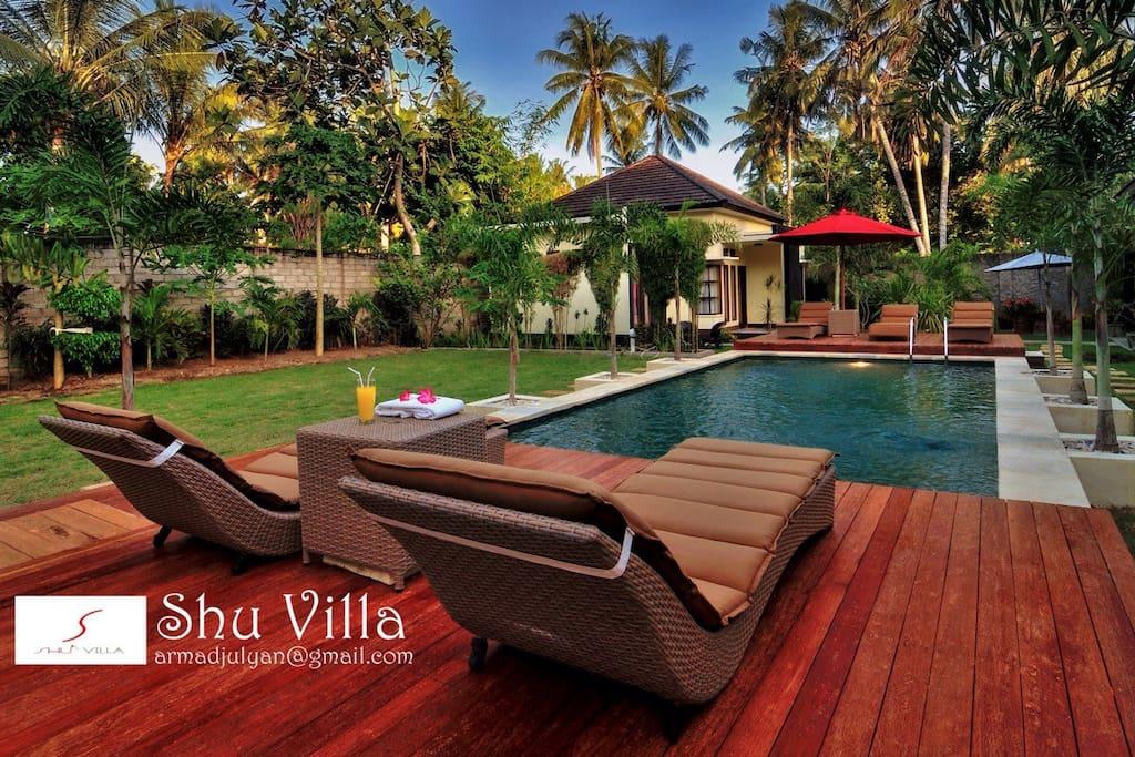 Lombok Kuta Villa For Rent