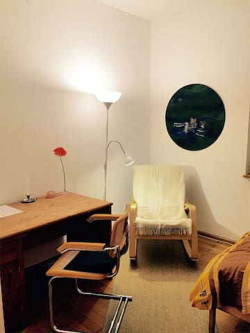 Guest-Room in shared flat & bicycle - Fribourg - Appartement en résidence