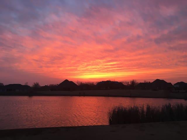 Spectacular sunrises!!