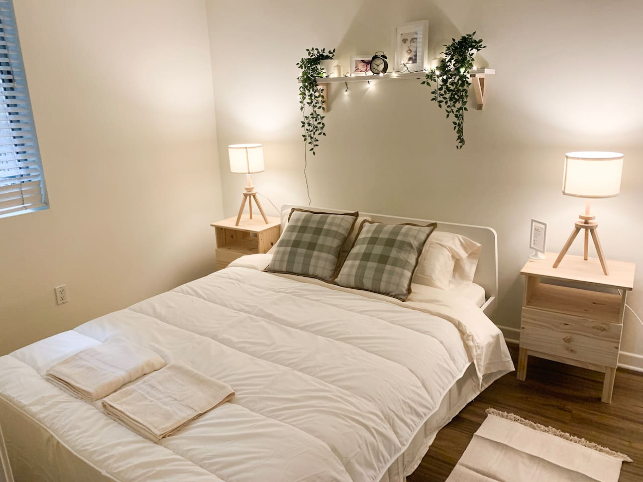 Your 1st cozy and quite bedroom