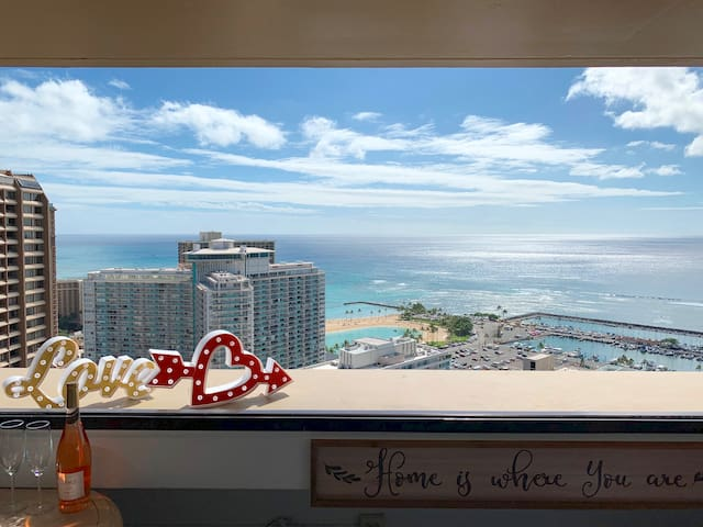 Million Dollar View Waikiki BEACH Honolulu Amazing