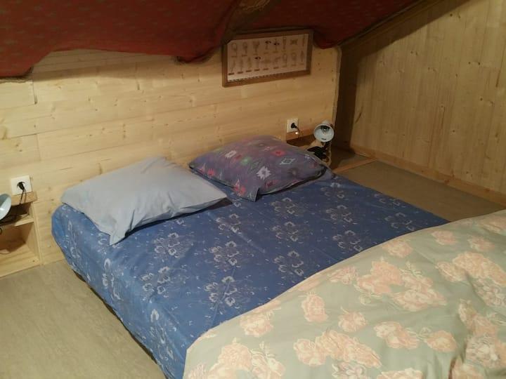 La chambre bois