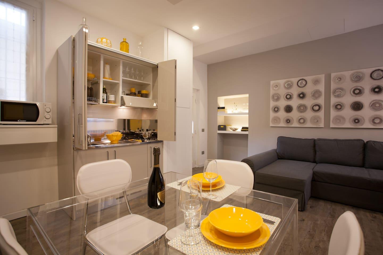 Living - cucina